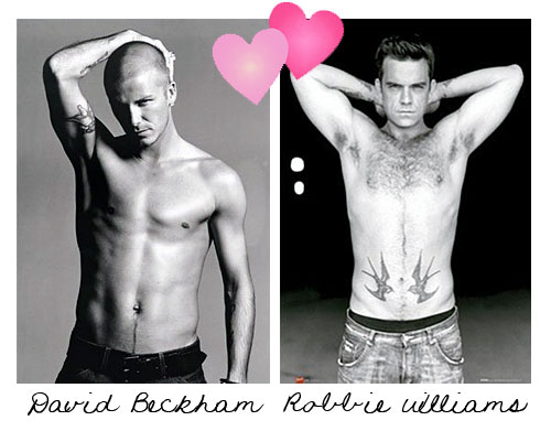 Robbie williams & David Beckham
