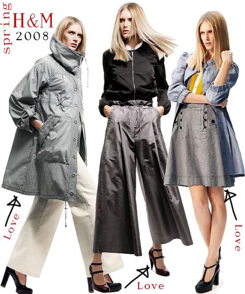 H&M våren 2008