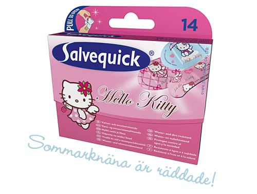 Plåster med Hello Kitty