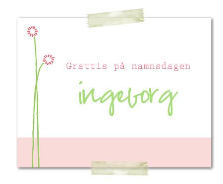 Grattis Ingeborg