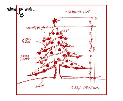 Dax för julgran