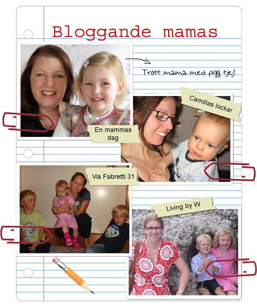 Bloggande mammor