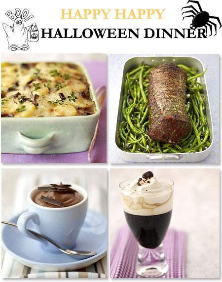 Halloween middag