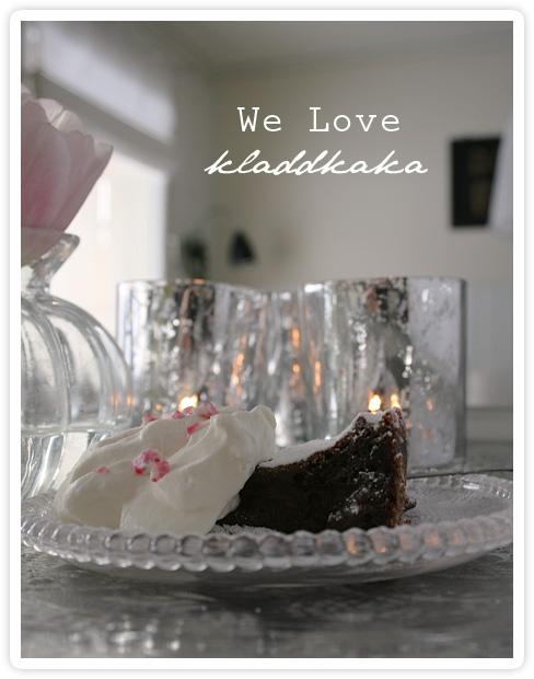 We Love kladdkaka