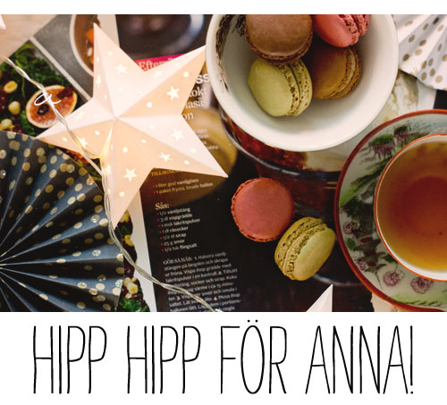 grattis anna Grattis Anna! | Living by H grattis anna